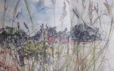 Towards St James-Sketch