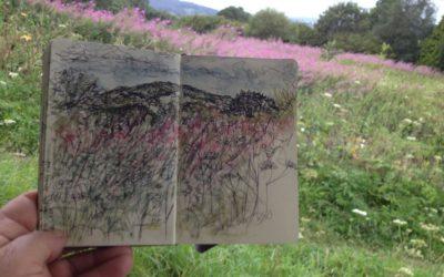 Towards Duncliffe – Sketch